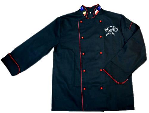 bluza kucharska męska z inicjałami